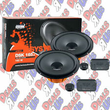 "HERTZ DSK 165.3 CAR AUDIO STEREO 6-1 /2"" COMPONENT SPEAKER SYSTEM DIECI SET 6.5"