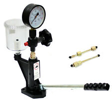 Fuel Test 400bar8000psi Diesel Injector Nozzle Tester With Dual Scale Gauge
