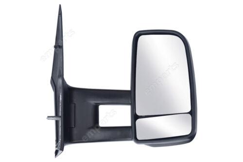 Mercedes Sprinter Porte complète Aile Rétroviseur manuel bras long O//S aucun Indicateur 2006 />