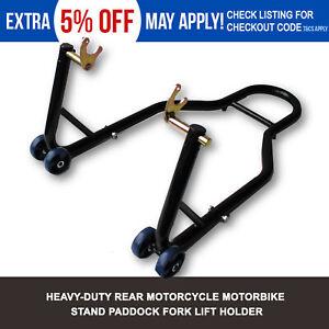 Rear-Motorcycle-Stand-Heavy-Duty-Motorbike-Lift-Paddock-Carrier-Bike-Honda-KTM