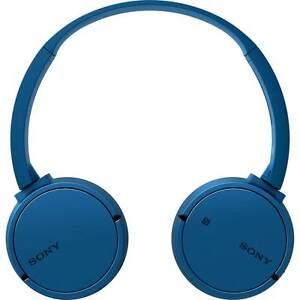 Sony MDR-ZX220BTL Wireless On-Ear Headphones Blue New from AO