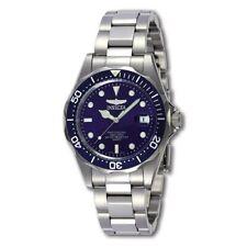 Invicta Men's Watch Pro Diver Quartz Blue Dial Stainless Steel Bracelet 9204