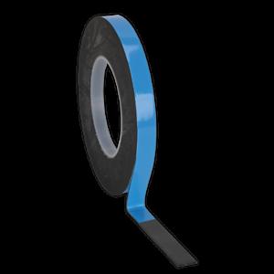 DSTB-125-Sealey-BIADESIVO-SCHIUMA-NASTRO-ADESIVO-12mm-x-5mtr-nastri-di-supporto-blu