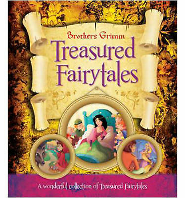 """""""AS NEW"""" Brothers Grimm - Treasured Fairytales: A Wonderful Collection of Treasu"""