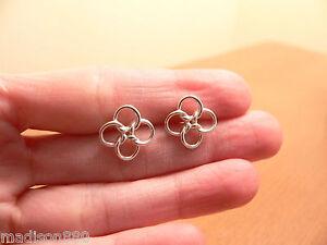 f48fa6769 Image is loading Tiffany-amp-Co-Silver-Peretti-Quadrifoglio-Lucky-Clover-
