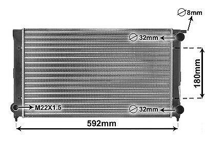 Kühler MotorkühlungVW Seat MotorkühlerWärmetauscher kühler kühlung kühlen