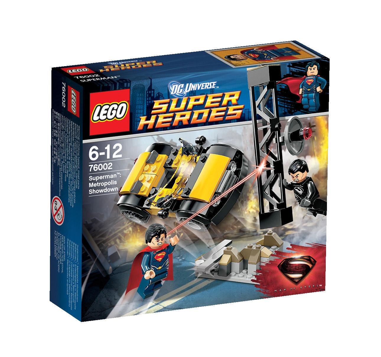 Lego DC Super Heroes Heroes Heroes 76002 Superman decisión en Metrópolis  muy popular