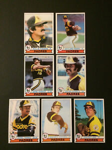 1979-Topps-Baseball-San-Diego-Padres-21-Card-Lot-NM-Rollie-Fingers-Perry