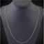 18k-Gold-Schlangenkette-vergoldet-lang-60cm-1MM-duenn-Damen-Herren-Halskette Indexbild 4