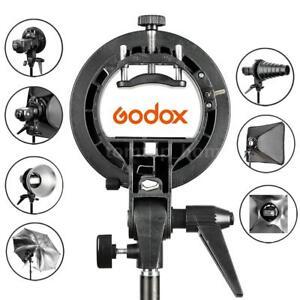 Godox-S-Type-Bracket-Bowens-Mount-Holder-for-Speedlite-Flash-Light-Snoot-Softbox
