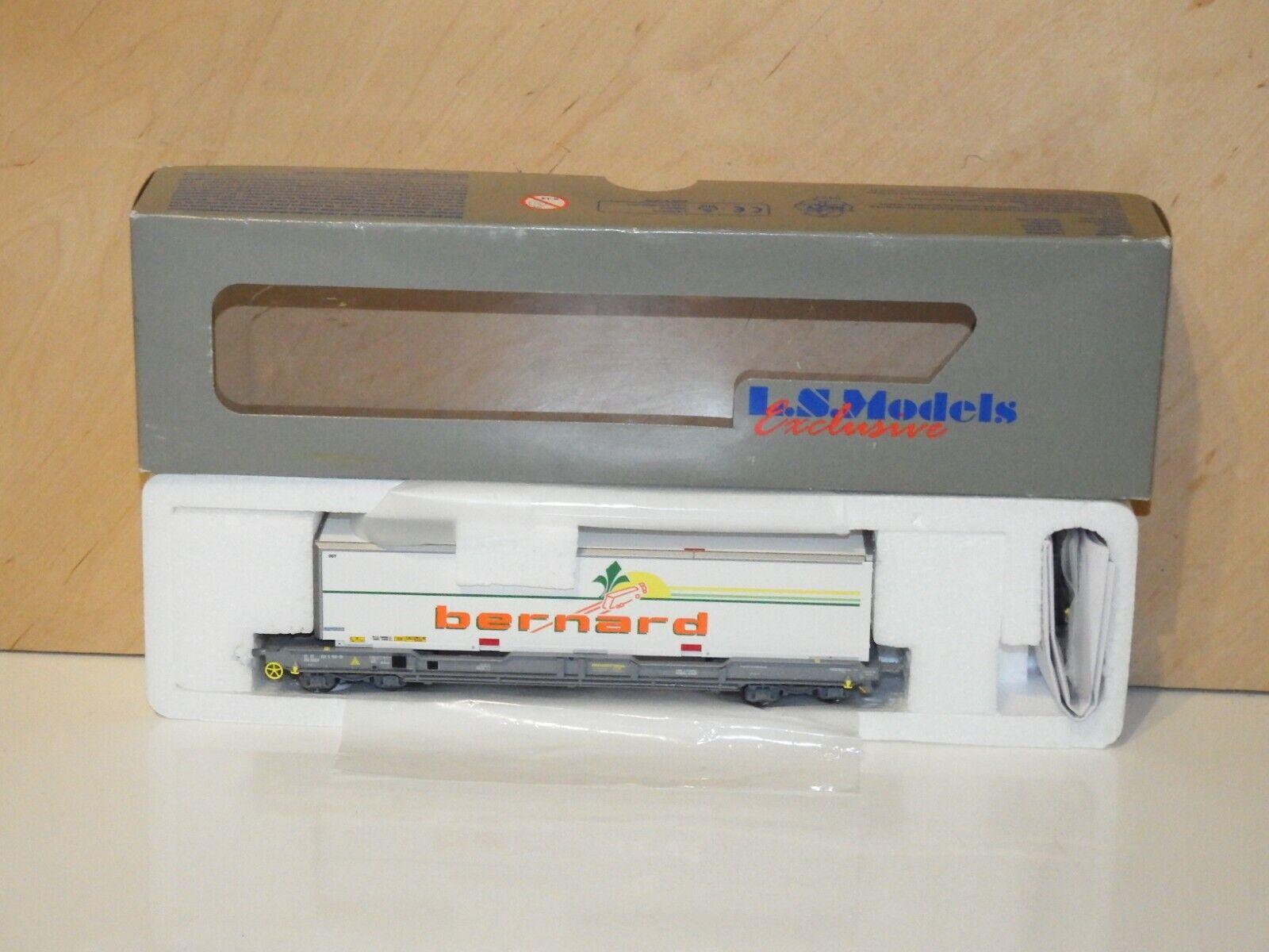 H0 LS models  30295 Container Wagon 40' SNCF Bernard MINT BOXED 5904  boutique en ligne