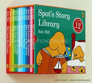 SPOT-039-s-Story-Library-12-Story-Book-Set-Collection-Box-Set-Eric-Hill-New-Spots