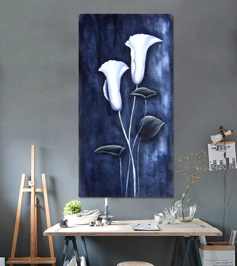3D weiße Blaumen 4 Fototapeten Wandbild Fototapete Bild Tapete Familie AJSTORE DE