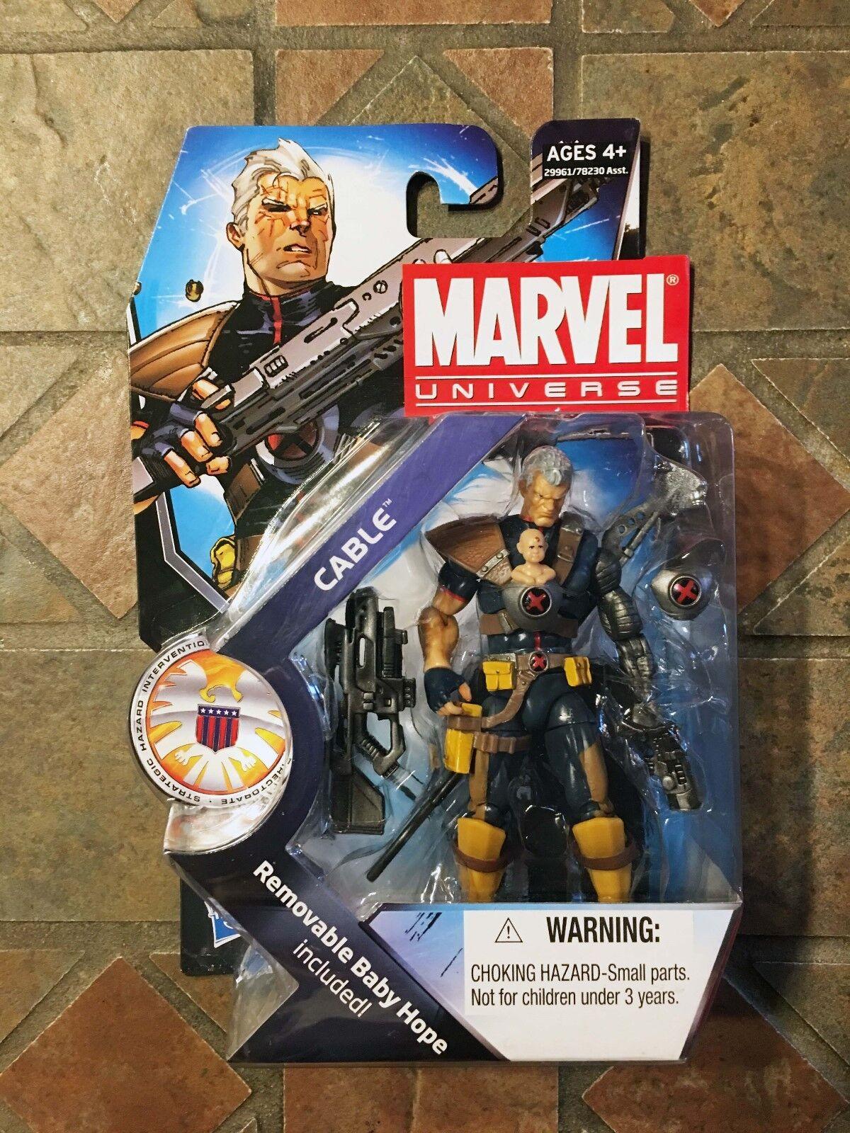 Marvel Universe CABLE & HOPE Variant figure Series 3  007 X-Men Avengers