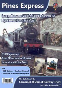 Somerset-and-Dorset-Railway-Trust-S-amp-D-Pines-Express-286-Autumn-2017-bargain