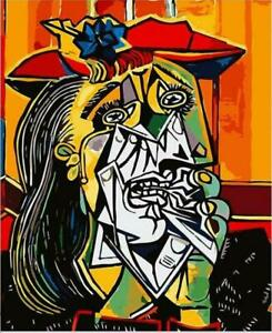 Weeping Woman By Pablo Picasso Artwork Paint By Number DIY Kit Painting