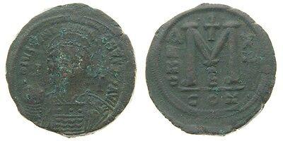 Münzen Mittelalter Byzantinische Münzen 540 Ad Byzantinisch Ae Follis Justin I Jahr 13 M Constantinople Ungebraucht