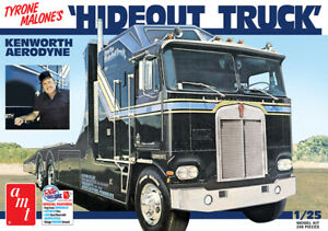 AMT-1158-Tyrone-Malone-039-s-Kenworth-Hideout-Transporter-Truck-model-kit-1-25