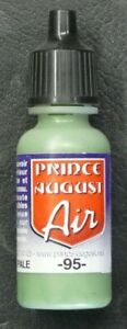 PRINCE-AUGUST-AIR-ACRYLIQUE-95-VERT-PALE-FS-34227-17ml-NEUF
