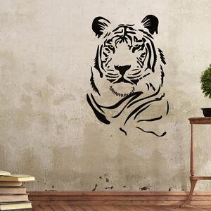 Wall Stencils Tiger Stencil Template For Graffiti Better Than Wallpaper Decals Ebay