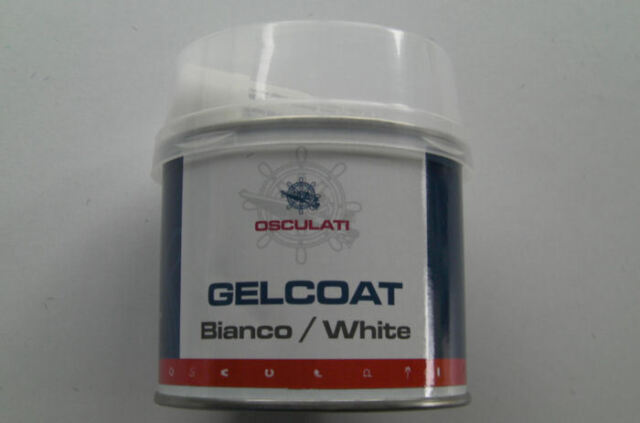 TWO GELCOAT FILLER FOR BOATS,400g (2X200g TINS). BRIGHT WHITE, BEST I HAVE USED