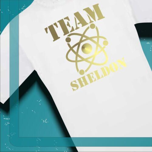 T-shirt the big bang theory équipe sheldon s-xxl 00010cg
