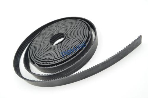 PU Black arc HTD 3M Open Synchronous Timing Belt Width 6//9//10//15mm Polyurethane