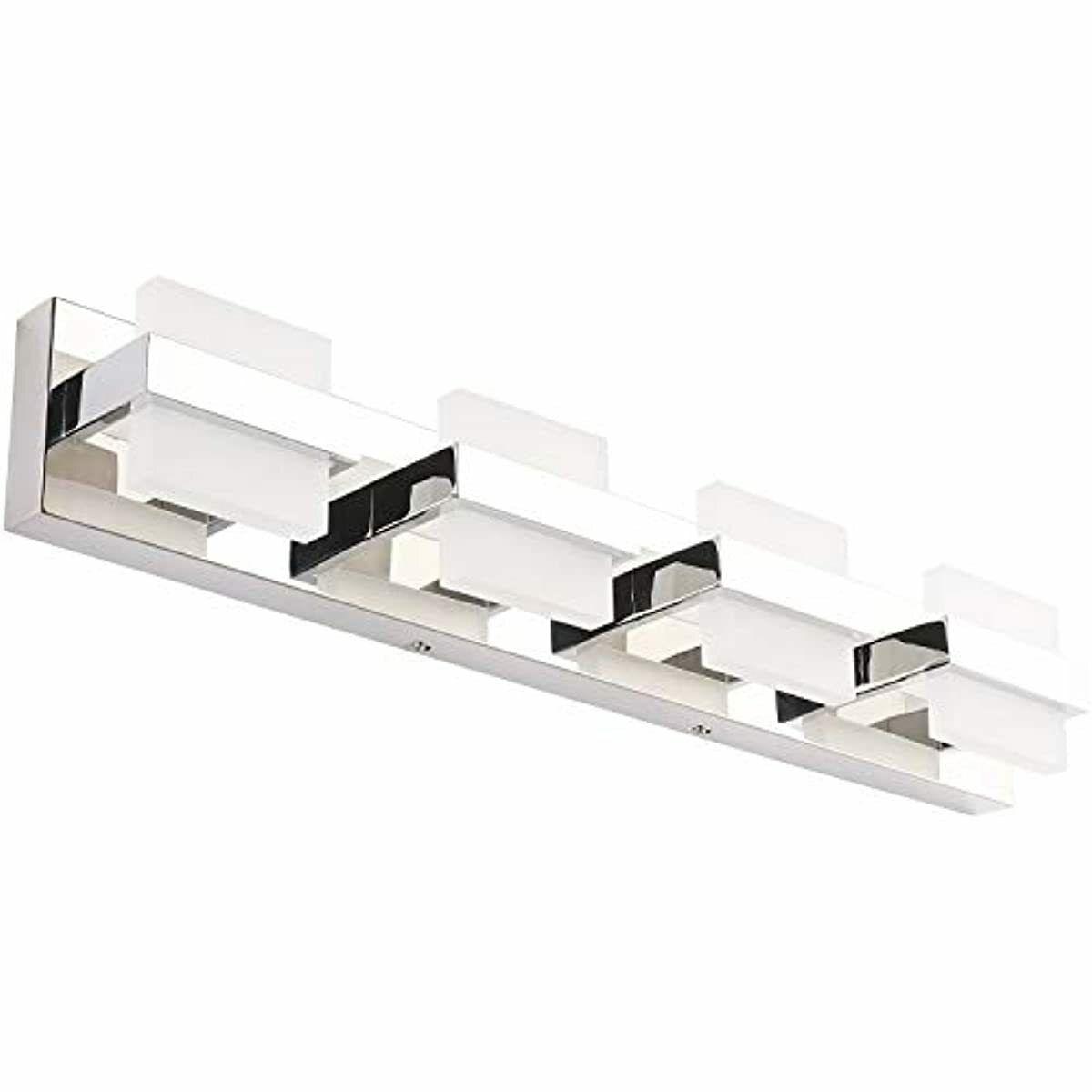 Image of: Solfart Modern 4 Lights Led Vanity Lights For Bathroom Wall Light Fixture Decor For Sale Online Ebay
