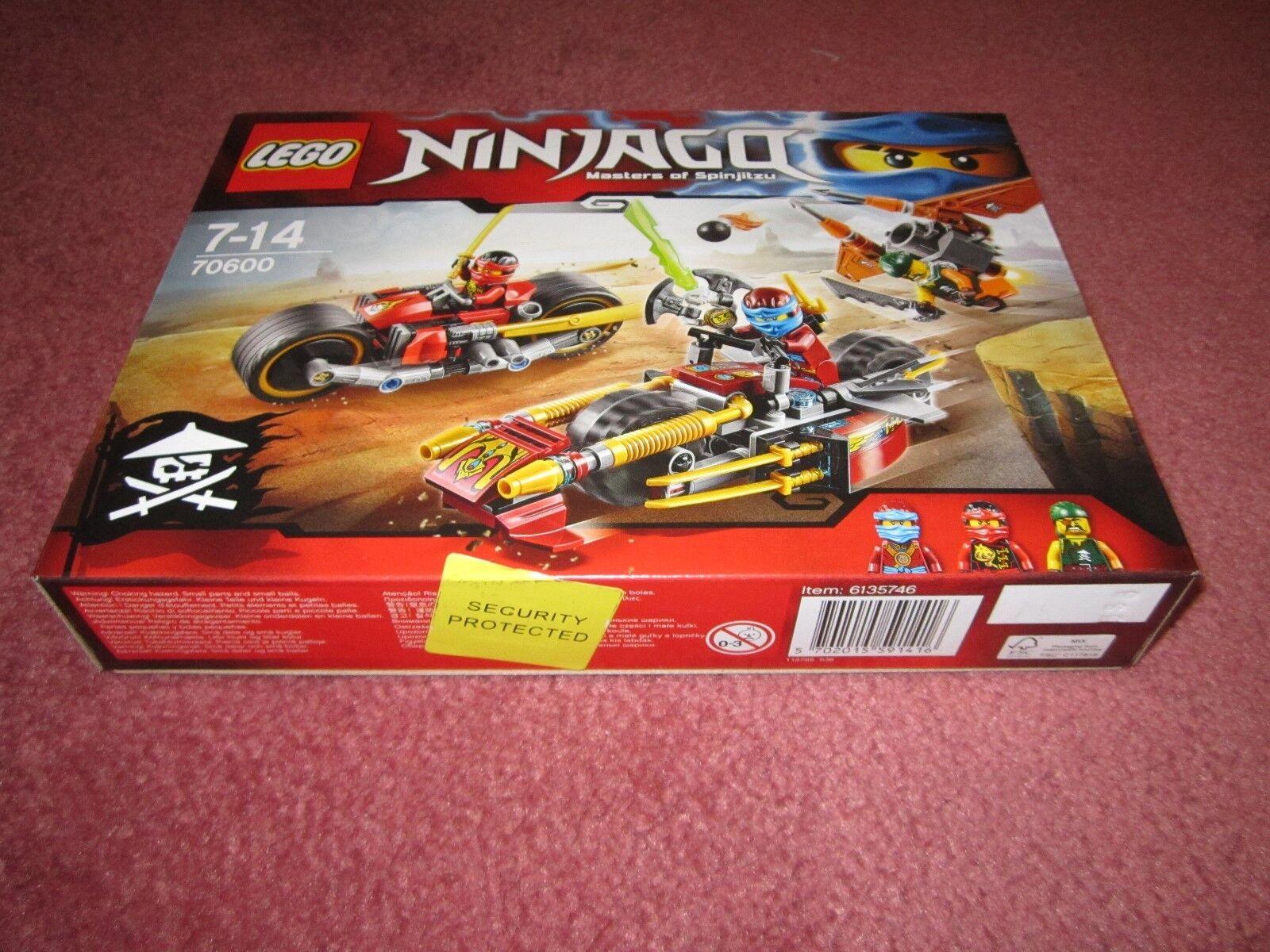 LEGO NINJAGO NINJA BIKE CHASE 70600 - NEW BOXED SEALED