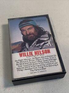 Willie-Nelson-Always-On-My-Mind-1982-Cassette-Tape-CBS-Columbia