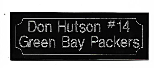 DON HUTSON GREEN BAY PACKERS HALL OF FAME  LEGEND IN ACTION  8 x10 !