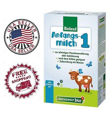 4 Boxes Of Lebenswert Organic Milk Formula Stage 1. Free Ship 3 Days.