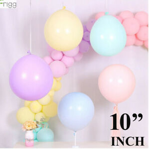 100Pcs-10-034-pollici-MACARON-Candy-Colori-Pastello-in-Lattice-Palloncino-Decorazione-Festa