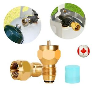 Propane-Refill-Adapter-Gas-Cylinder-Tank-Coupler-Heater-For-Camping-Cooking-BBQ