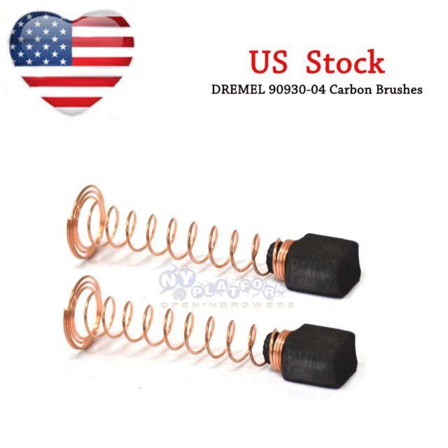 5 pairs Carbon Brushes For DREMEL 90930-04 100 200 275 285 300 395 595 sander