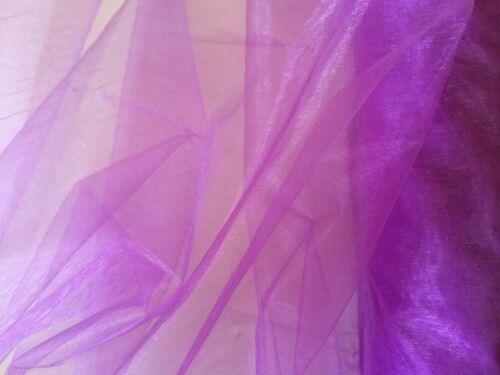 Organza 1m Stoff 1,49€//m viele Farben Breite 150cm Dekoration,Basteln,Hochzeit,