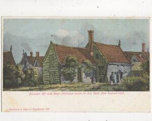 Zaandam-Czaar-Peterhuisje-Netherlands-Vintage-U-B-Postcard-S-Bakker-405b
