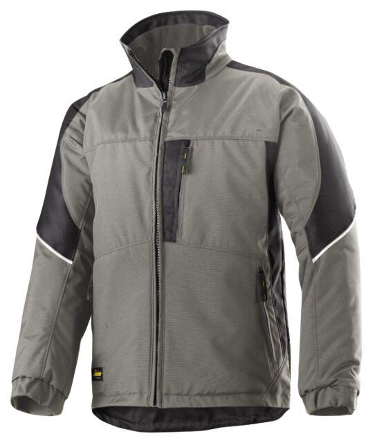 19adfebd901501 Snickers Workwear 1119 Power Winterjacke Beanie Grau-schwarz XL ...