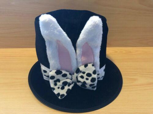 WONDERLAND EASTER RABBIT HAT ALICE THEMED BOOK DAY WORLD BOOK WEEK IN CHARACTER