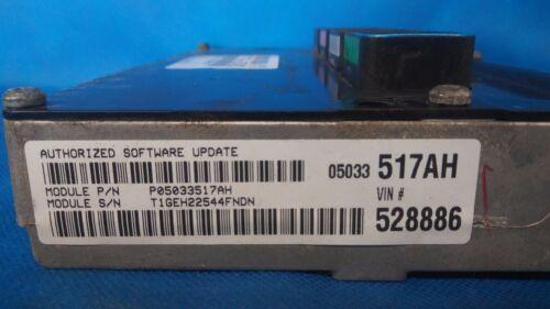 PROGRAMMED PLUG /& PLAY 05 PT CRUISER ECM ECU COMPUTER PCM 327AC 05033517AH 517
