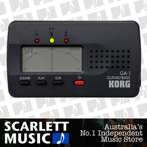 Korg-GA-1-Solo-Digital-Tuner-For-Guitar-amp-Bass-w-3-Years-Warranty-BRAND-NEW