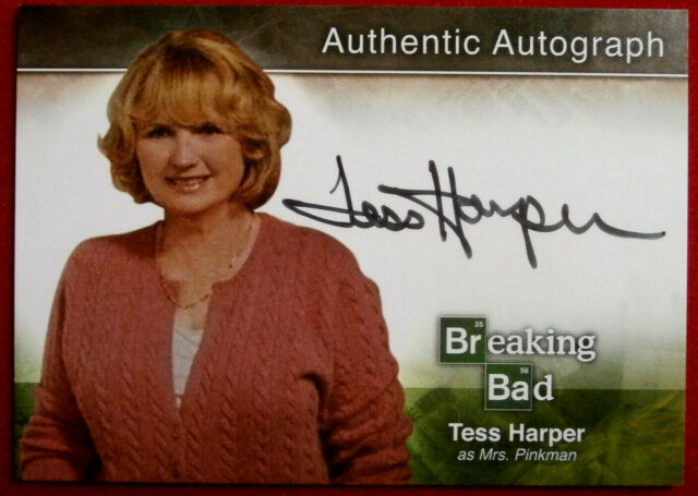 BREAKING BAD - TESS HARPER - Mrs Pinkman - AUTOGRAPH Card - A18 - Cryptozoic