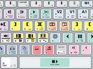 Details about The Best AVID MEDIA COMPOSER Keyboard Shortcut Stickers   Ever  (US & UK QWERTY)