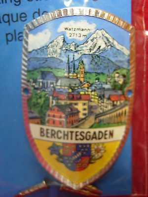 Berchtesgaden Salzbergwerk new shield mount stocknagel hiking medallion G9931