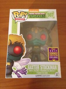 Funko POP! Baxter Stockman (Teenage Mutant Ninja Turtles TMNT SDCC 2017 NECA)
