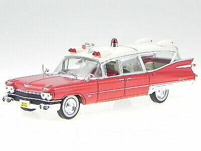 Cadillac Miller Meteor Ambulance Red 1959 Diecast Modelcar 495002 Atlas 1  43 for sale online | eBay