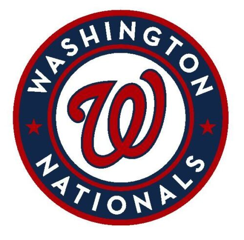 Washington Nationals Sticker Decal S201 Baseball YOU CHOOSE SIZE