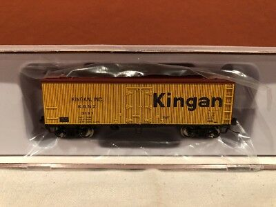 Freight Cars N Scale Rapido Trains 521022 Garx 37' Meat Reefer Kingan Rd#3187 Relieving Rheumatism And Cold