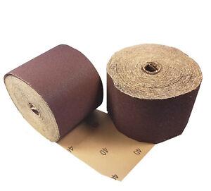Craft-Equip 25m Schleifpapier-Rolle Schleifrolle Aluminiumoxid P36-320