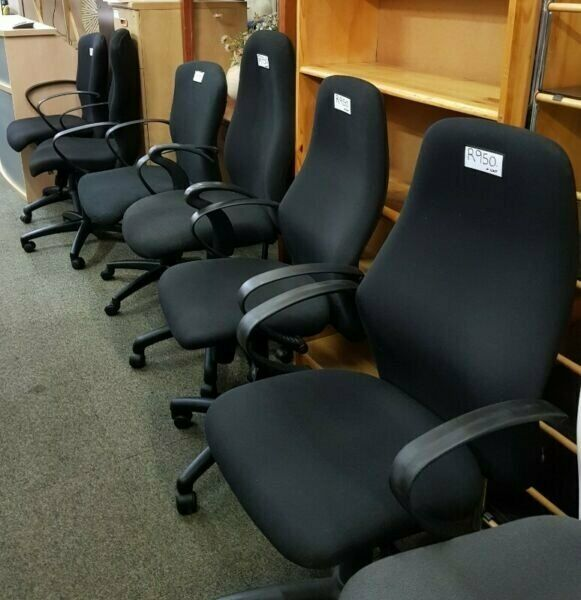 OFFICE CHAIRS : REOPENING SALE- 30% OFF ALL USED & REFURBISHED CHAIRS - 6 MONTHS GUARANTEE